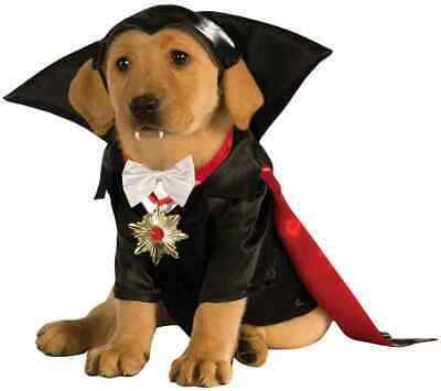 Dracula Universal Studios Monsters Vampire Fancy Dress Halloween Pet Dog Costume