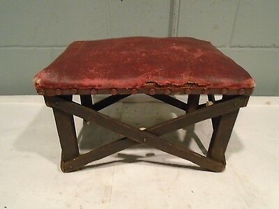 Vintage Milking Stool, Ottoman, Foot Stool, Foot Rest, Step Stool Antique