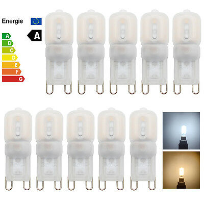 10X 1X G9 LED Capsule Lights 7W 5W Replace Halogen Bulb Cool Warm White 220-240V