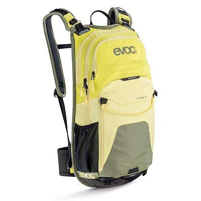 EVOC, Stage 12L Technical Performance, Backpack, Sulphur/Yellow/Olive