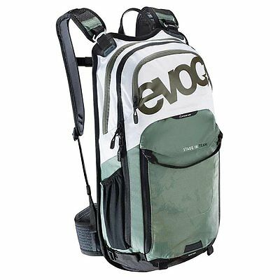 EVOC, Stage 18L Team, Technical Performance, Backpack, White/Olive