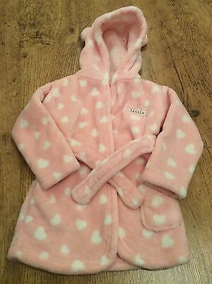 Baby Girls Dressing Gown Size 6-9 Months