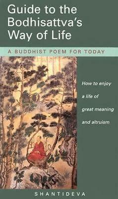 NEW Guide to the Bodhisattva's Way of Life By Shantideva Paperback Free Shipping