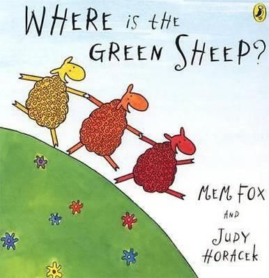 NEW Where Is The Green Sheep?  By Mem Fox  Board Book Free Shipping