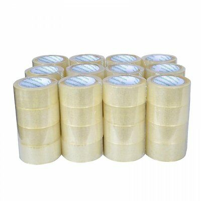 "Rolls Box Carton Sealing Packing Packaging Tape 2""x110 Yards330 ft Clear"