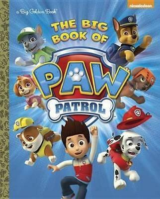 NEW The Big Book of Paw Patrol By Golden Books Hardcover Free Shipping