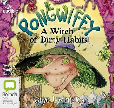 NEW A Witch of Dirty Habits : Pongwiffy By Kaye Umansky Audio CD Free Shipping