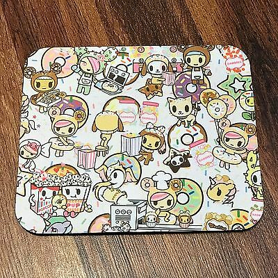 TOKIDOKI Donutella Sweet Shop Donutino Unicorn MOUSEPAD MOUSE PAD Kawaii custom
