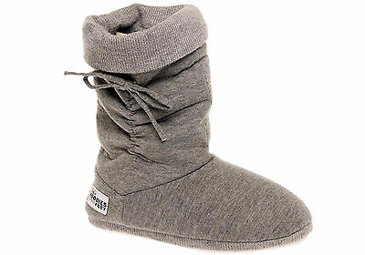 New Grosby Hoodie Womens Indoor Booties/slippers