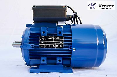 Electric motor single-phase 240v 0.75kw 1hp 1410rpm B14