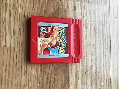 Pokemon Red --Gameboy Color •