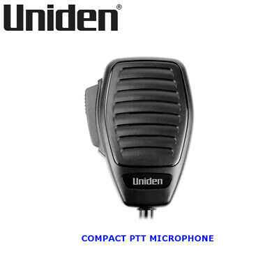 UNIDEN Transceiver UHF Microphone 4-Pin Push To Talk Suits to UH077/088/099/100