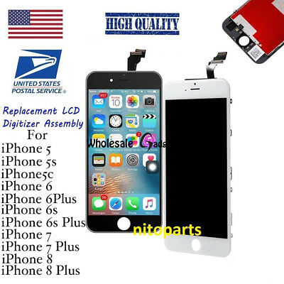 OEM LCD Display Touch Screen Digitizer Replacement For iPhone 8 7 6s 6 Plus 5s