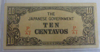 10 Centavos The Japanese Government -- Free Shipping *