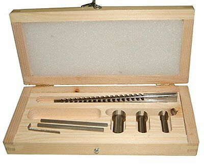 New Accusize - No.60 Metric HSS Keyway Broach Sets in Fitted Box, #5100-0060