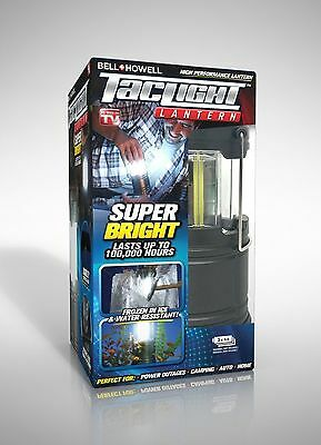 BELL HOWELL Taclight Lantern Portable LED Collapsible Camping and Outdoor Torch