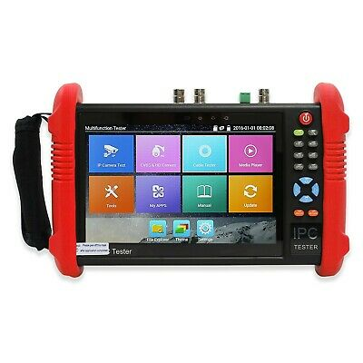 Wsdcam 7 Inch IPS HD TFT-LCD 6 IN 1 IP Camera Tester CCTV Tester IP/Analog/HD-TV