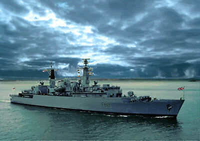 Hms Broadsword - Hand Finished, Limited Edition (25)