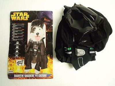 """New Star Wars """"Darth Vader"""" Pet Halloween Costume for Dogs Size: X-Large 22""""-24"""""""