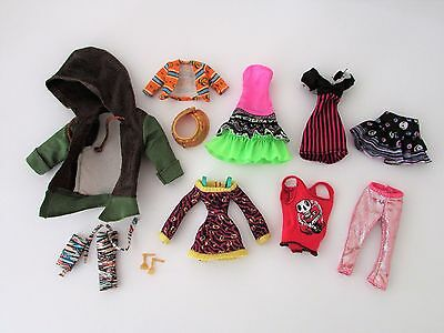 Mixed Lot 7 of Clothes/Accessories to Suit Monster High Girl & Boy Dolls