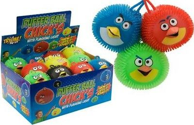 Job Lot Of 48 Toy Puffer Ball Birds FREE POSTAGE