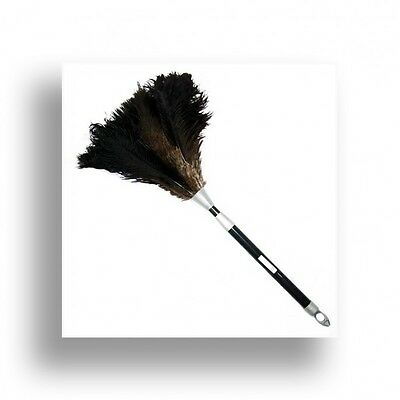 One heavy duty compact 2 piece handle ostrich feather duster  extends 60-80cm
