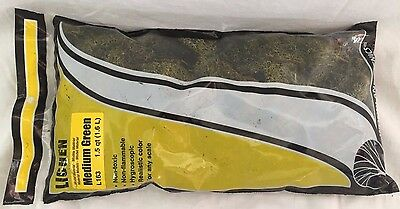 NEW Woodland Scenics Lichen Medium Green L163 1.5 qt (1.6L)