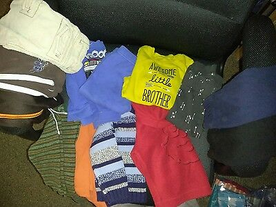 baby boys warm weather lot 18months long sleeve shirts pants and outfits