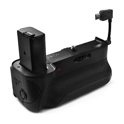Vertical Battery Grip w/IR Remote for Sony A6300 NP-FW50 Battery as BG-E16 LF765