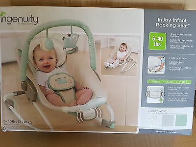 Ingenuity By Bright Starts Lullaby Lamb Unisex Bouncer