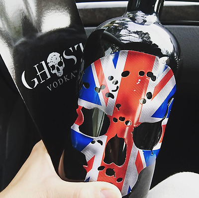 Ghost Vodka - Uk - 40% Alc - Union Jack Skull
