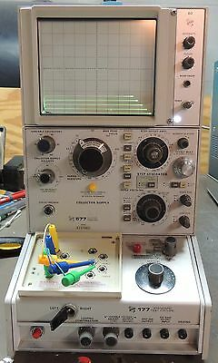 Tektronix 577 D2 Curve Tracer with 177 Test Fixture.Tested working, PICKUP ONLY