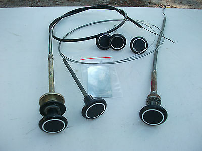 dash knobs and cables kit for hk ht hg holden premier monaro