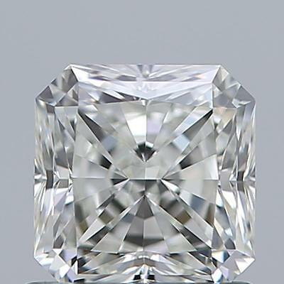 $17K Value GIA Radiant Cut Loose Diamond - 100% Eye Clean 1 Carat Diamond!