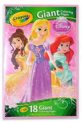 Crayola Giant Colouring Pages - Disney Princess