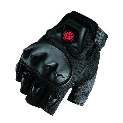 Adjustable Motorcycle Mountain Bike Cycling Racing Motorbike Half Finger Gloves