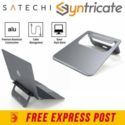 SATECHI ALUMINIUM PORTABLE LiGHTWEIGHT LAPTOP STAND FOR MACBOOK  - SPACE GREY
