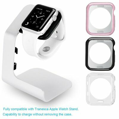 Apple Watch Iwatch charging Stand Tranesca Aluminum for 38mm and 42mm Rose Gold