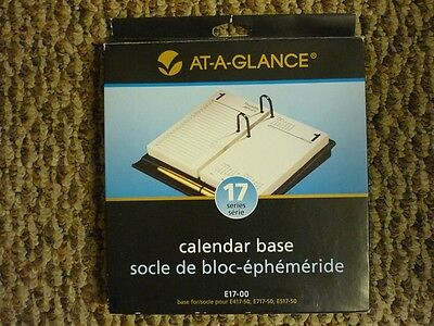 At-a-Glance Calendar Base Black E17-00