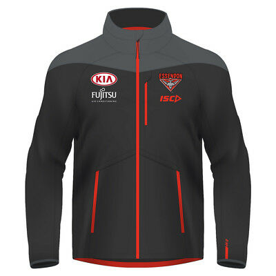 Essendon Bombers 2017 AFL Mens Wet Weather Jacket Top BNWT Footy Clothing