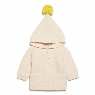 NEW Wilson & Frenchy Oatmeal Knitted Jacket with Hood