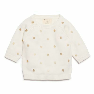 NEW Wilson & Frenchy Little Polka Dot Knitted Jumper