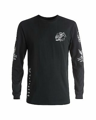 NEW DC Shoes™ Mens Tester Long Sleeve T Shirt DCSHOES  Tee
