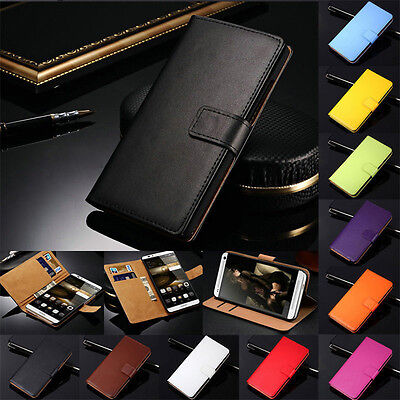 Genuine Leather Wallet Flip Case Cover For Huawei Honor 7 8 9 10 Lite P9 P10 P20