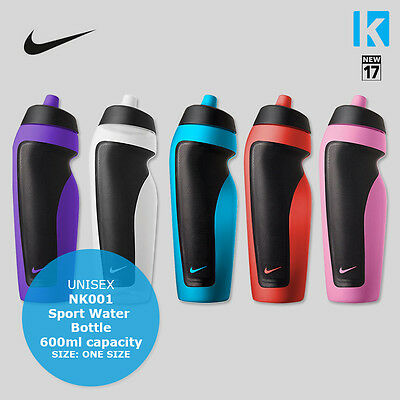 Nike Sport Water Bottle Leakproof 5 Colours Gym Workout Tennis Running Cycling