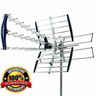 HDTV 1080p Outdoor 180Miles Antenna Directiona Digital HD TV FM 180Mile