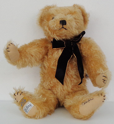 Alpha Farnell Mohair Bear By Merrythought Barnet Limited Edition Certificate