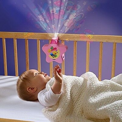 Tomy Starlight Dreamshow Musical Cot Lightshow Night Light Projector Sleep Toy