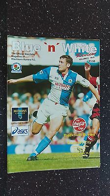 Blackburn Rovers V Coventry City 1994-95