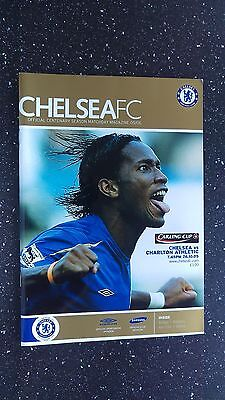 Chelsea V Charlton Athletic 2005-06